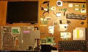 Dezmembrare laptop