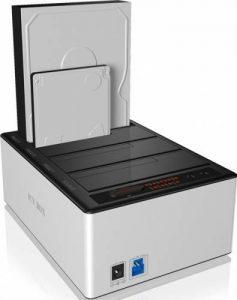 Alta modalitate de utilizare a hardului schimbat cu SSD - docking station Raid Sonic Icy Box
